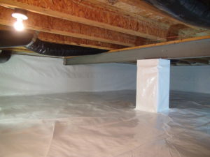crawl space encapsulation in fort worth