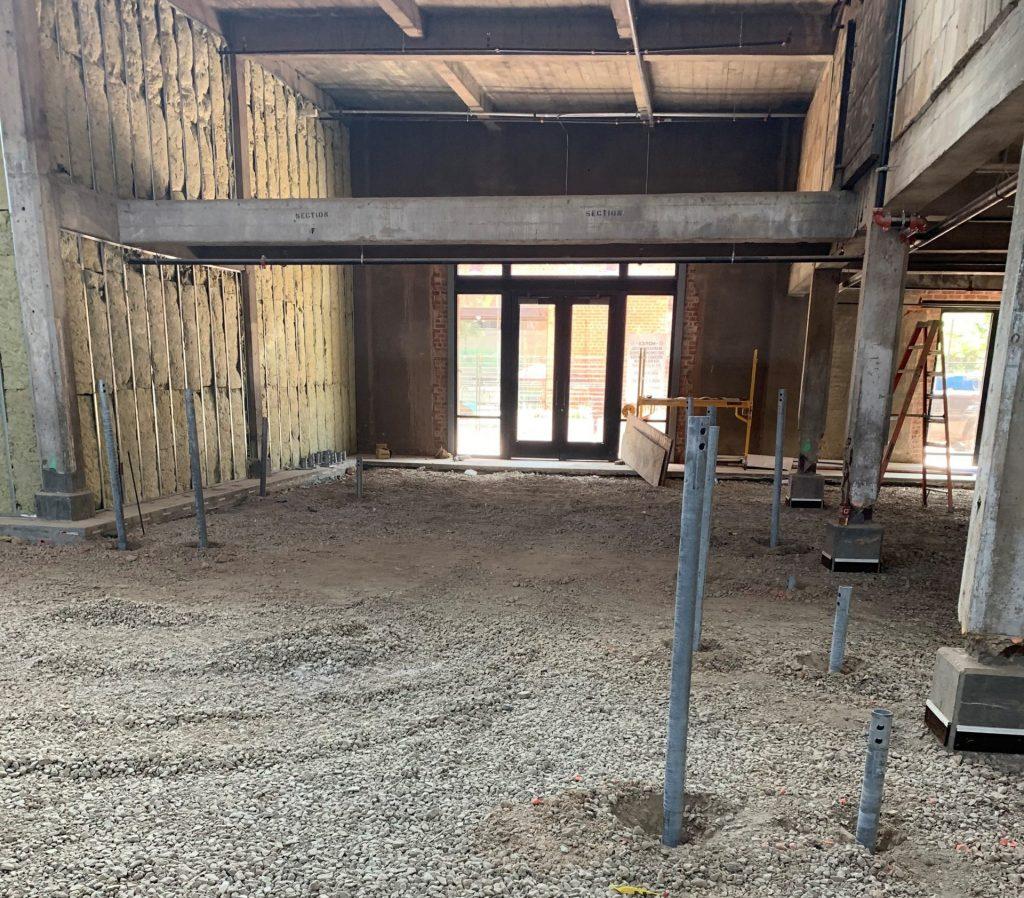 interior pilings